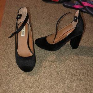Steve Madden Shoes - Black Velvet Heels